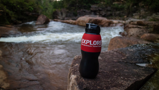 Water-to-go reusable filtration bottle