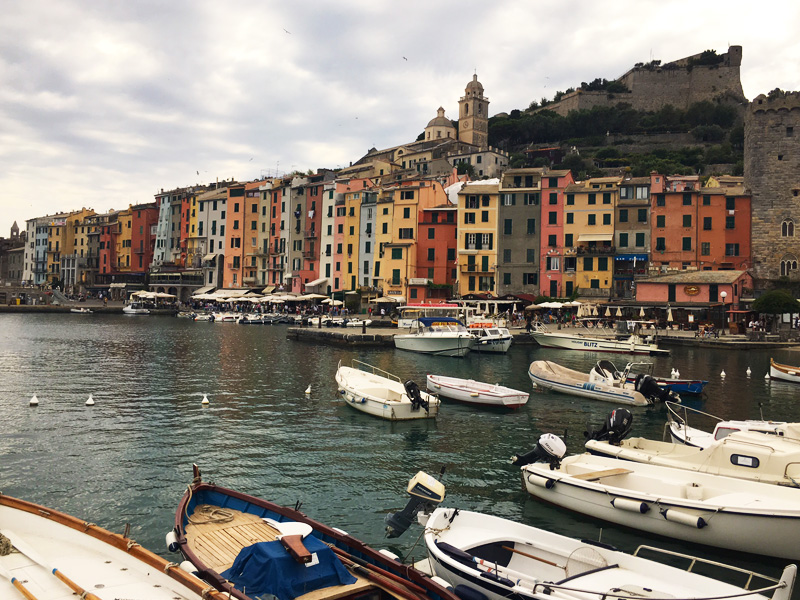 Portovenere colourful buildings WSCT