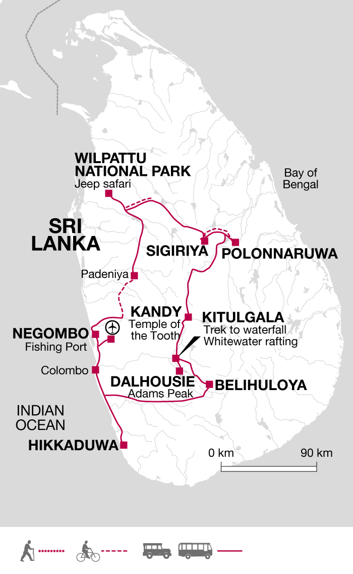 Adam's Peak Itinerary