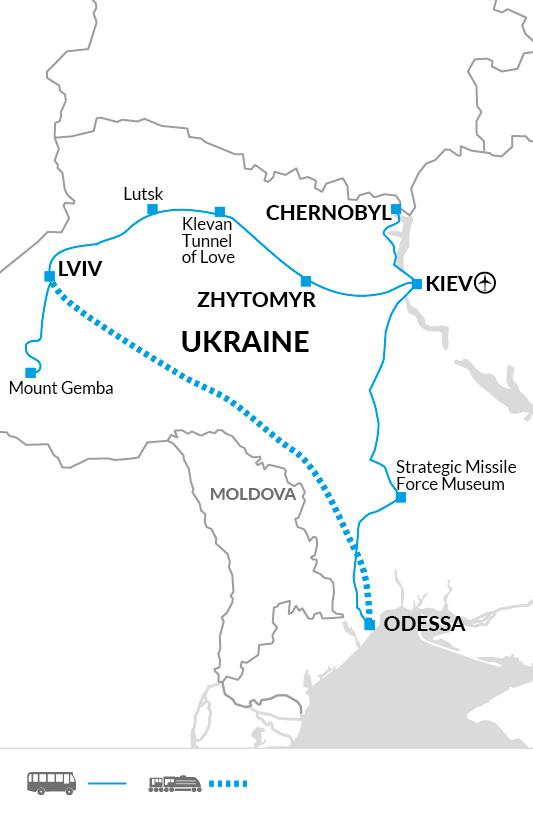 Ukraine in Depth | Ukraine Holiday | Including Chernobyl Tour - Explore