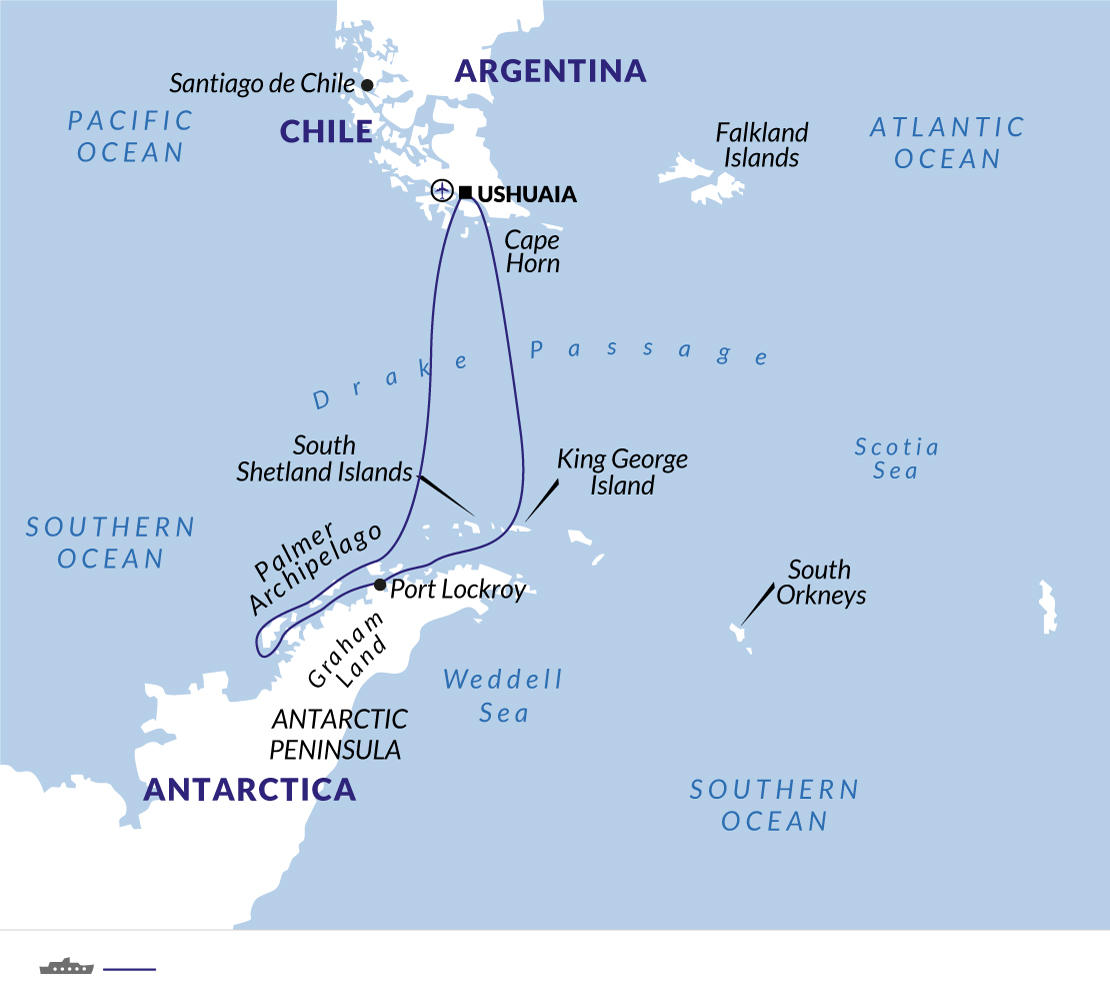 Polar Cruise Into The Antarctic Circle - Explore