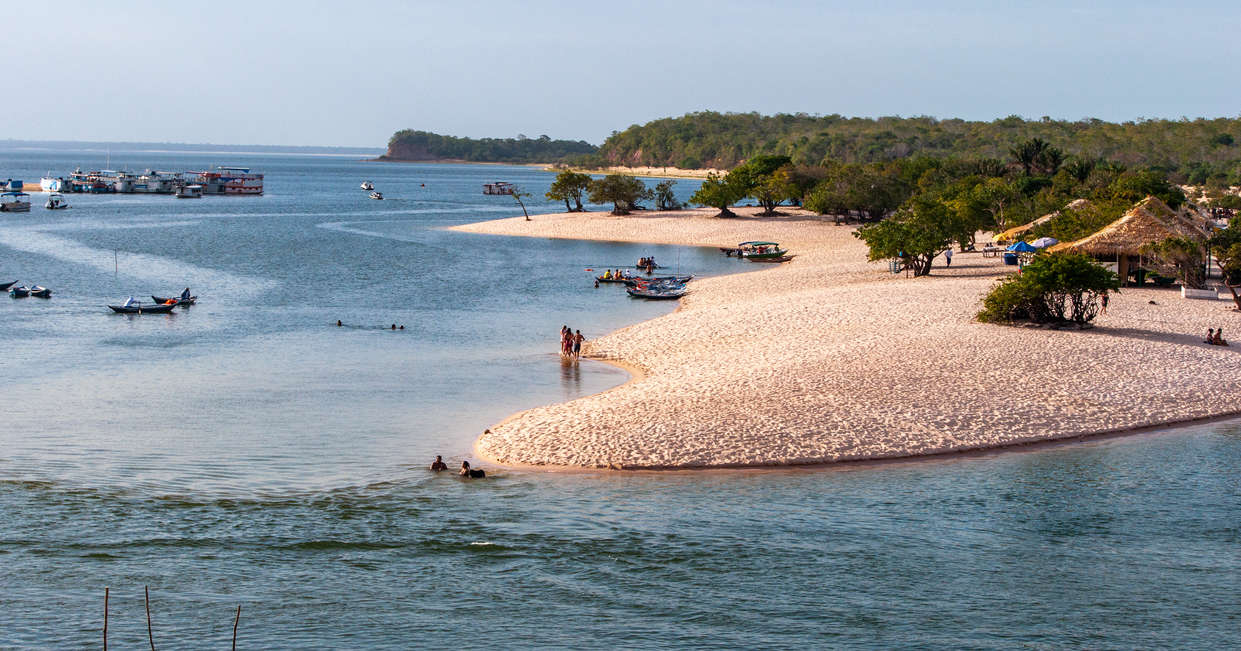 Amazon beaches at Alter do Chao
