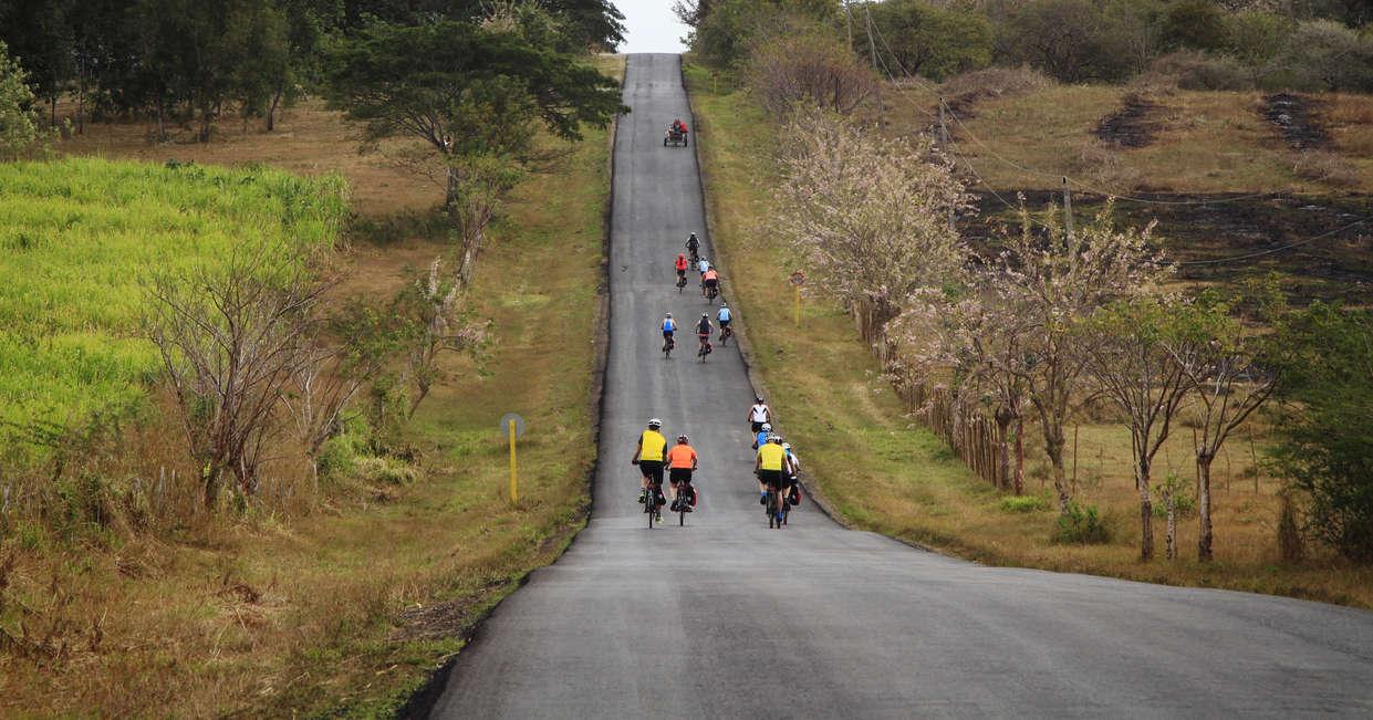 Cycling through rural Cuba