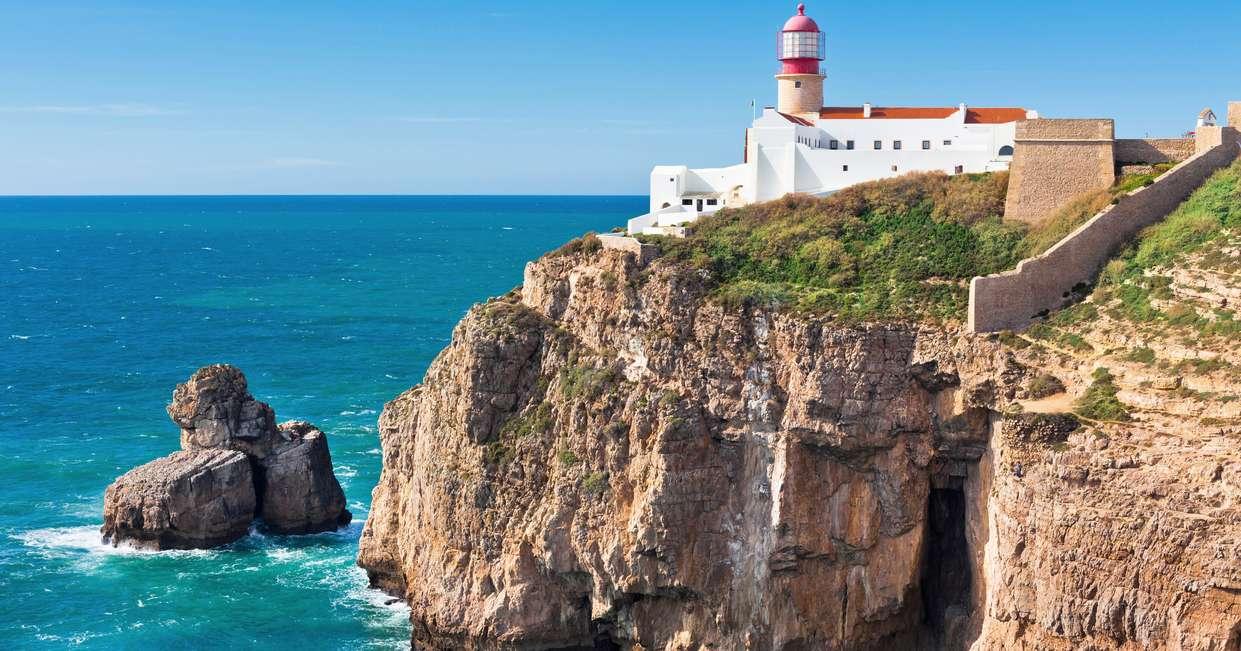 Cape St Vicente lighthouse