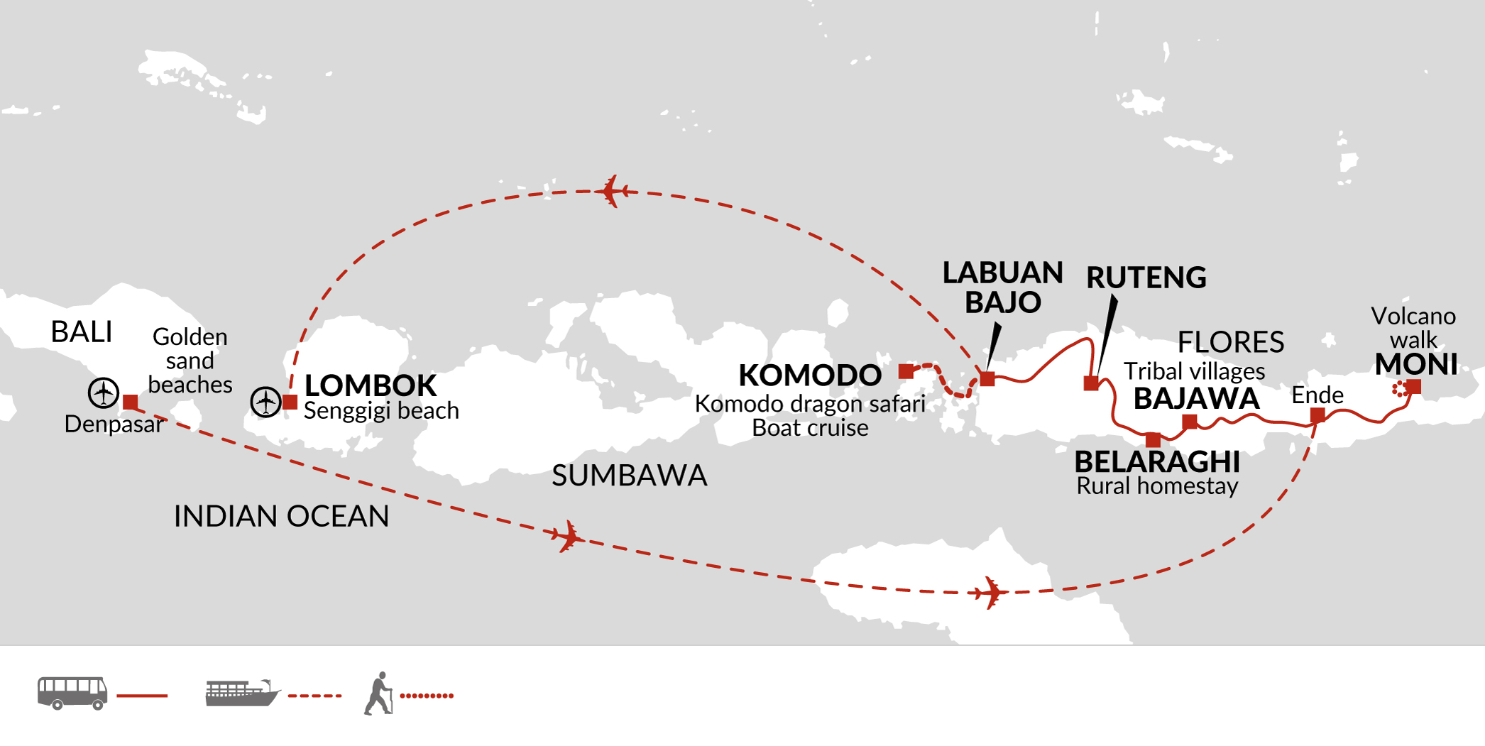 Family Holiday In Indonesia With Volcanoes & Komodo