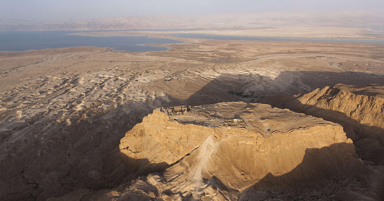 Views over Masada