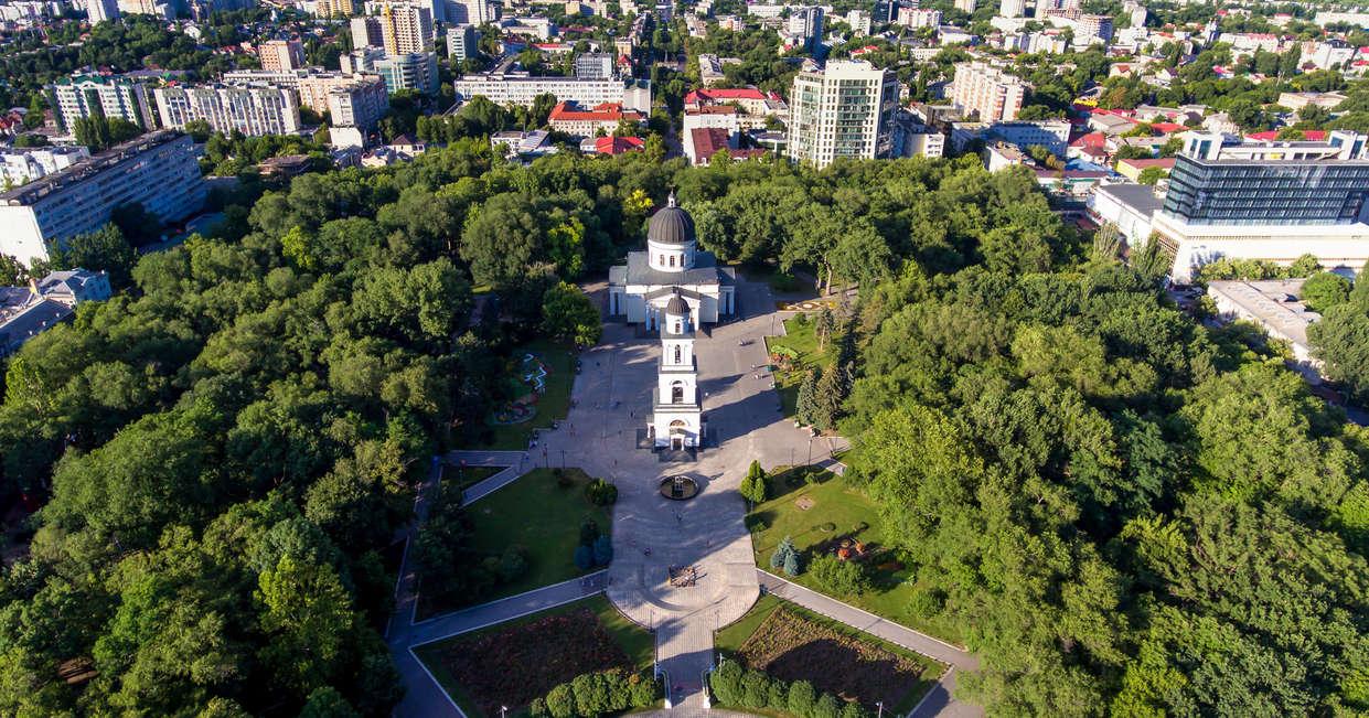 View over Chisinau