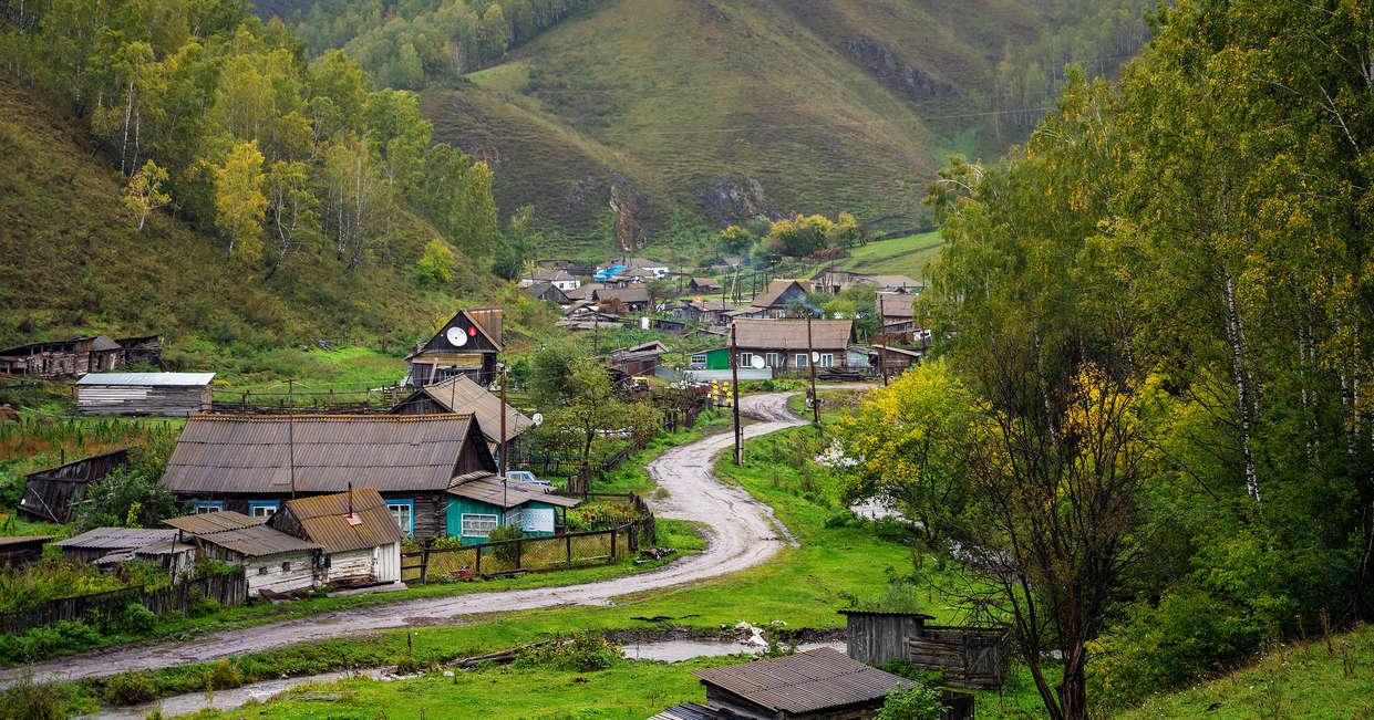 Altai region dwellings