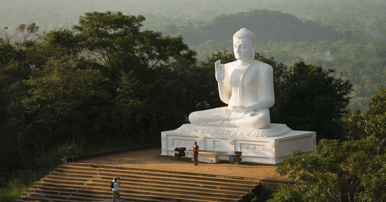 Mihintale, the craddle of Buddhism