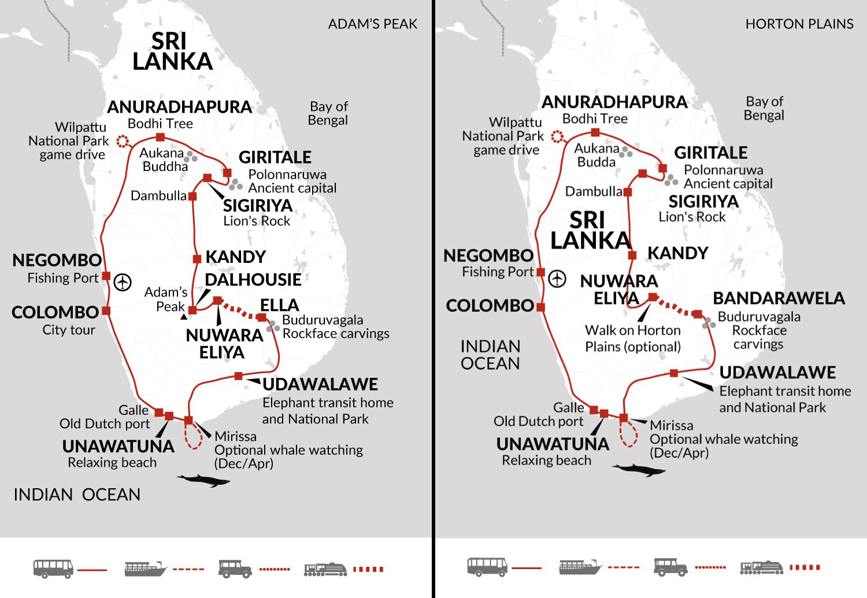 Adam's Peak Itinerary 2020