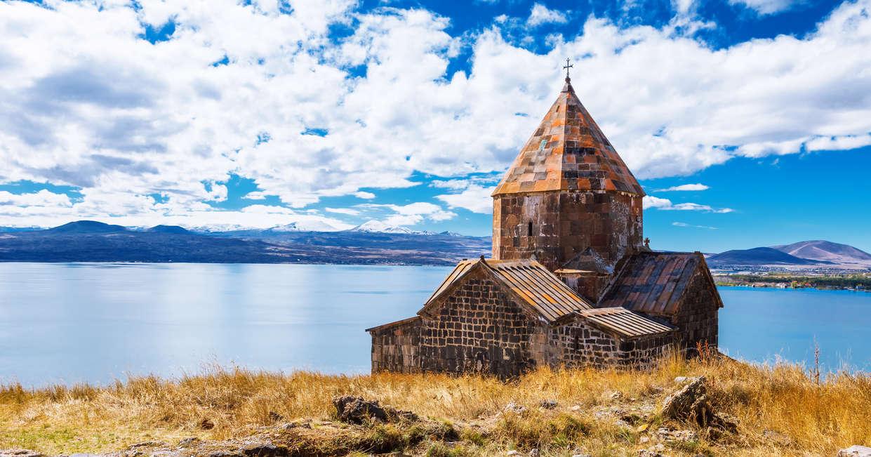 Sevanavank Church, Lake Sevan