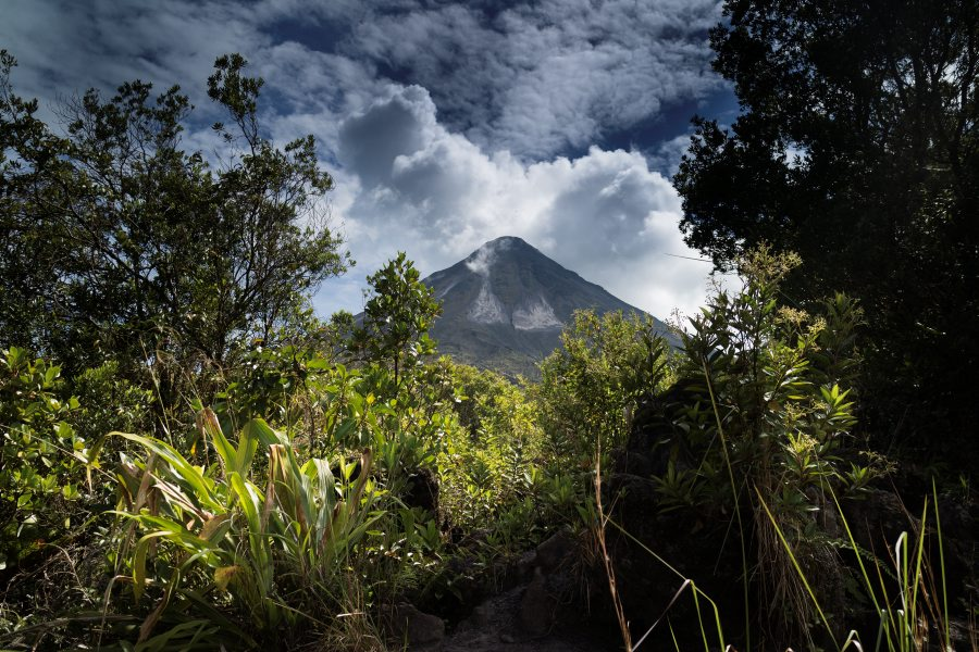 Views of Arenal volcano