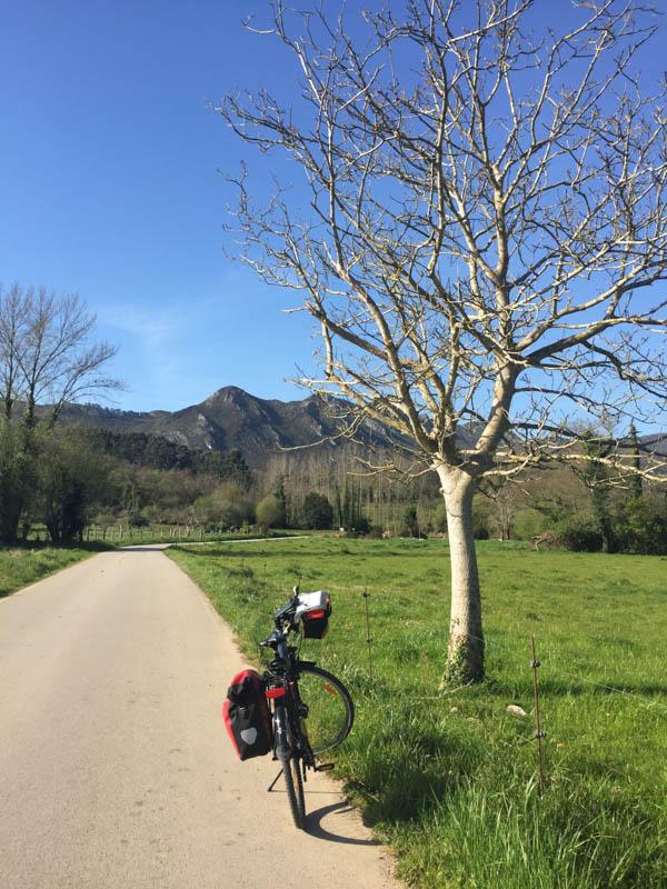 Route to Nueva de Llanes