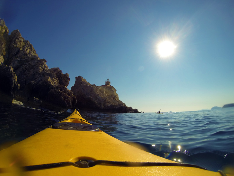 Sea Kayaking around Lopud