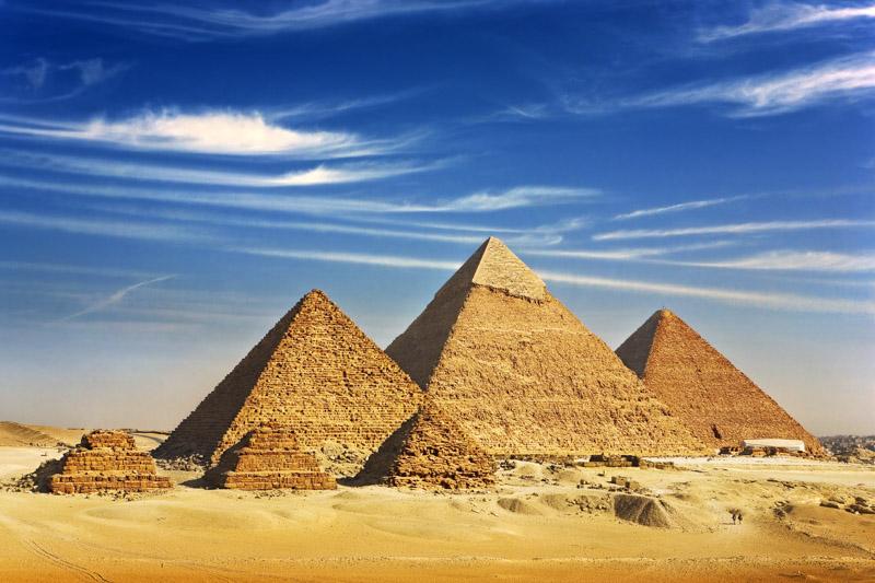 Giza pyramids, Cairo