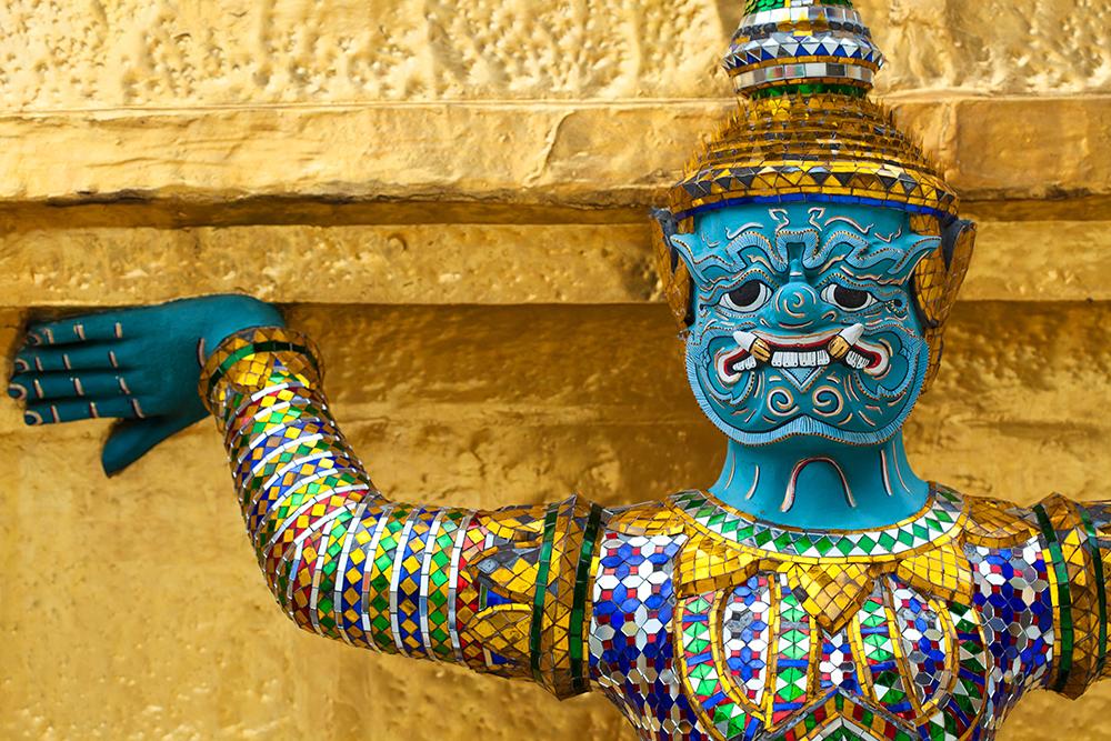 Guardian at Royal Palace, Bangkok