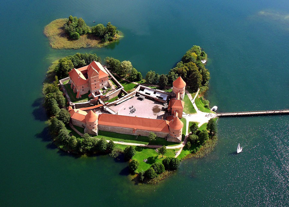 View of Trakai Castle