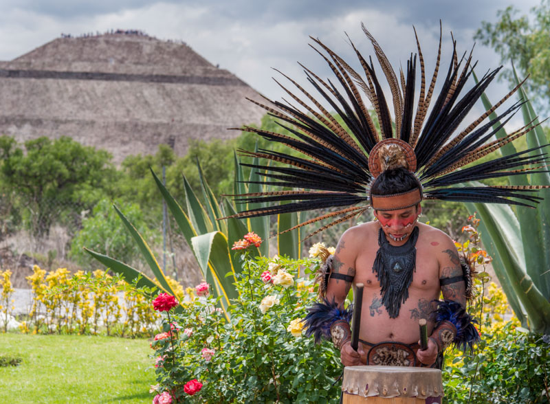At Teotihuacan
