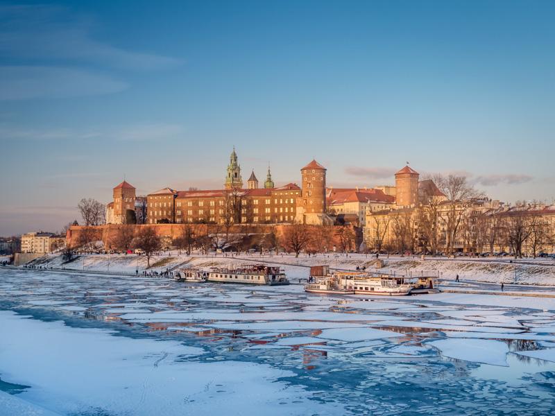 Krakow in Winter