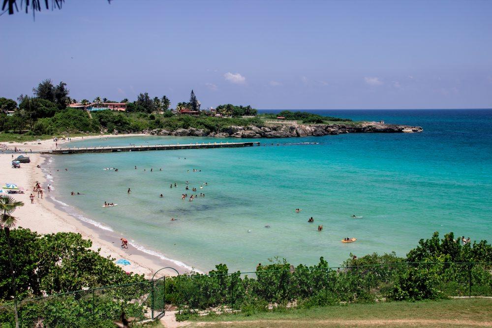 View over Playa Jibacoa